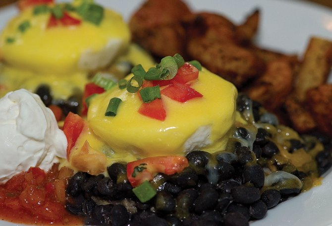 Creekside Cafe is part of the Tour de Forks fundraiser this weekend across Steamboat Springs. Funds from the restaurant's tour go to the Young Professionals Network. Customers who order an entree at Creekside, like
