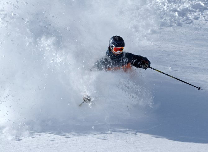 Steamboat Springs skier Matt Kane skis on the last day of November 2010. Steamboat Ski Area cracked the top 10 in the 2011 SKI Magazine reader survey rankings after falling to No. 14 last winter.
