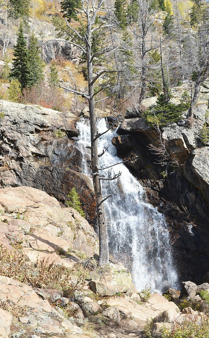 The autumn color has faded, but Saturday was ideal for a hike to the second waterfall on Fish Creek in what could be some of the last mild weather of the season.