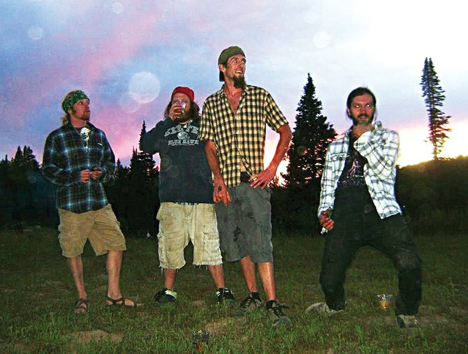Local electro funk rock band String Board Theory plays a free Halloween show on Monday night at Ghost Ranch Saloon.