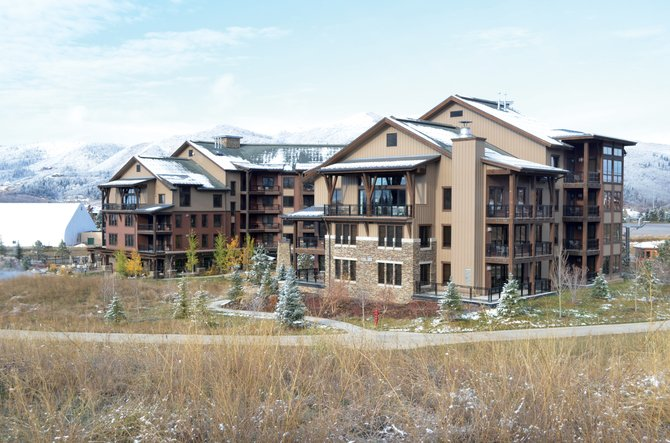 Construction on Trailhead Lodge began in 2007, and the first units closed in 2009. Fifty-eight condos remain unsold. The building cost $71 million to build and comprises 184,000 square feet.