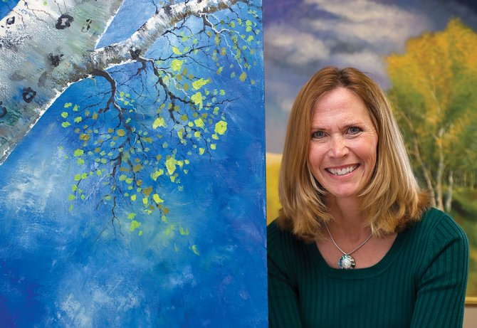 Steamboat Springs artist Rebecca Hilley will have her work featured this month at Creekside Cafe.