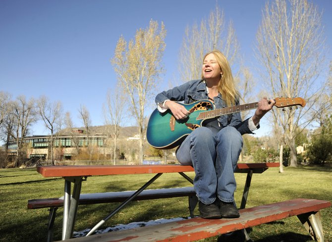 Deb Lenhart plays at Daddio's Bar & Grille in Milner every Friday and Saturday night.