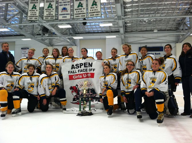 The defending state champion Steamboat Springs U19 girls hockey team started its 2011-12 season with an Aspen Fall Faceoff tournament win. 
