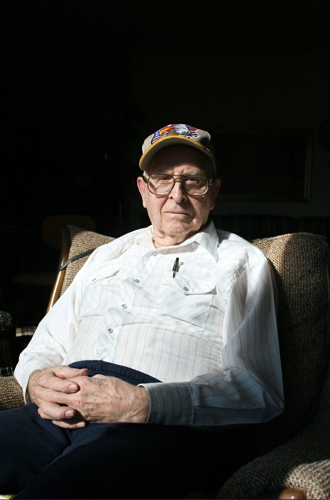 Rodney Duncan, 86, pictured in the home he built north of Craig, served in Burma and India for nearly 19 months during World War II. Duncan, originally from a homestead south of Steamboat Springs, traveled around the world during his deployment with the U.S. Army 330th Engineer Regiment.