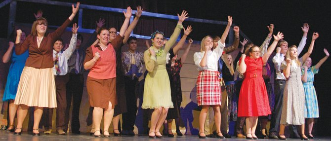 "Moffat County High School presents ""Footloose"""