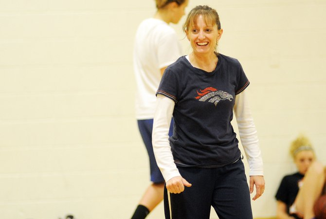 Michelle Wilkie took over the Hayden High School girls basketball program this year after growing up in a family filled with teachers and coaches.