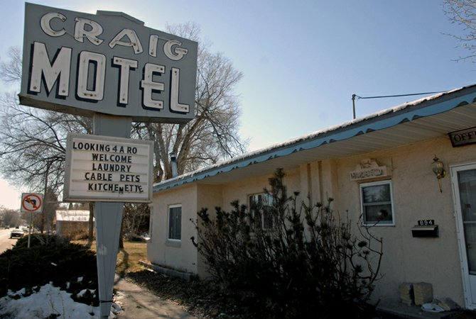 The Craig Motel, 894 Yampa Ave., has sat dormant since an October 2009 fire destroyed the site. Allie Craig, a local resident who owns a duplex next door to the burnt motel, said she would like to see the city level the property and possibly build a small park in its place.