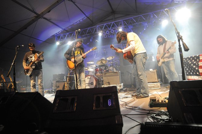 Band of Heathens performed during the 2009 MusicFest at Steamboat and will return March 10 to kick off the Bud Light Rocks the Boat free concert series at the base of Steamboat Ski Area.