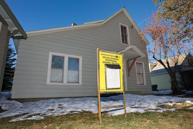 A group of local preservationists opposes the Tread of Pioneer Museum's plan to tear down this building and replace it with a facility to better store its collections.