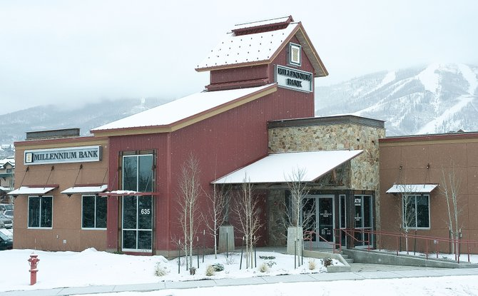 Millennium Bank in Steamboat Springs plans to change to Centennial Bank in the spring after the two parent companies merge.