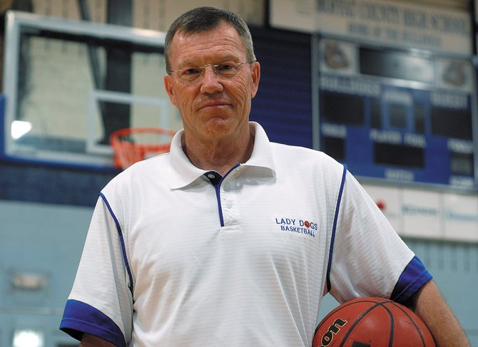 Craig Mortensen, a former Moffat County High School basketball coach, is serving as an assistant coach on the Adams State College girls basketball team for the 2011-12 season. Mortensen said he's enjoying new responsibilities like recruiting players from junior colleges, scouting opponents and helping promote home games.