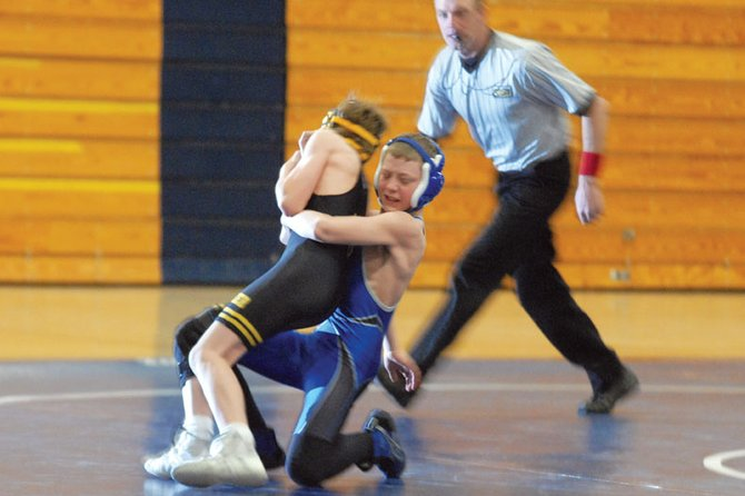 The Moffat County High School varsity wrestling team has had to overcome a young squad in the first month of the season. Head coach Roman Gutierrez said with more mat time, the Bulldogs will begin to wrestle to their potential.