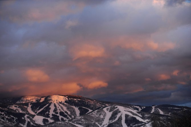 Although Mount Werner has just a 24-inch mid-mountain base, Steamboat Ski and Resort Corp. has worked to open 122 of its trails.