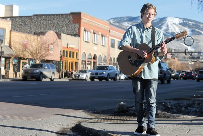 Ash Graham is a budding singer-songwriter from Wellington, New Zealand, who has spent the past month living with Barbara McNary and her family in North Routt County.