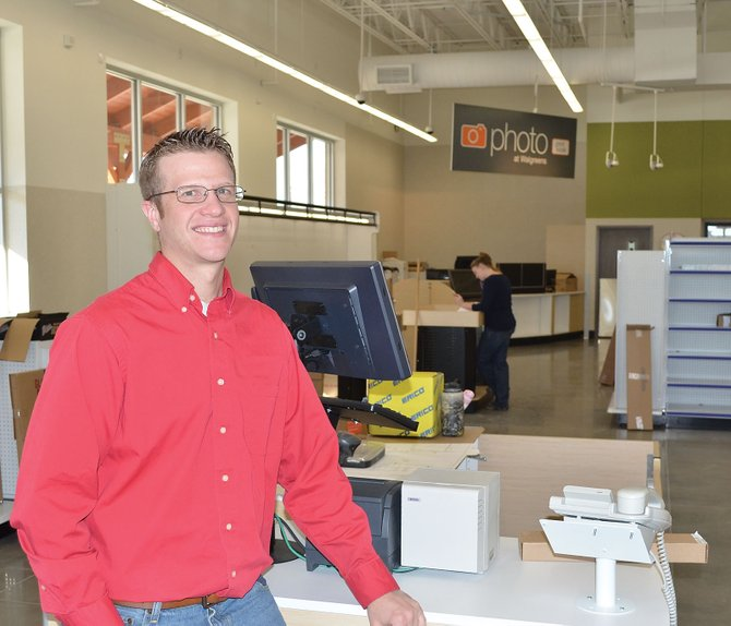 Manager Jared Aylor is preparing the new Steamboat Walgreens store for a quiet Jan. 27 opening. He's eager to hear from Steamboat vendors who have local products that might be appropriate for the store.