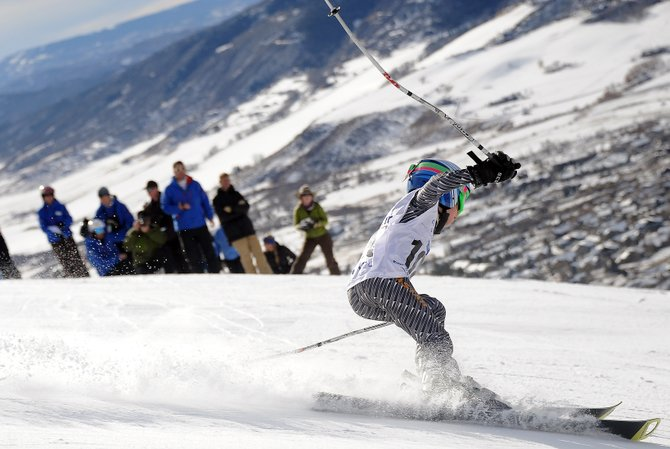 Bode Flanigan, 9, tears down the course of last weekend's Steamboat Cup event at Steamboat Ski Area. At 9 years old, athletes should be introduced to Alpine skiing according to a set of guidelines released by Steamboat Springs Winter Sports Club coaches.