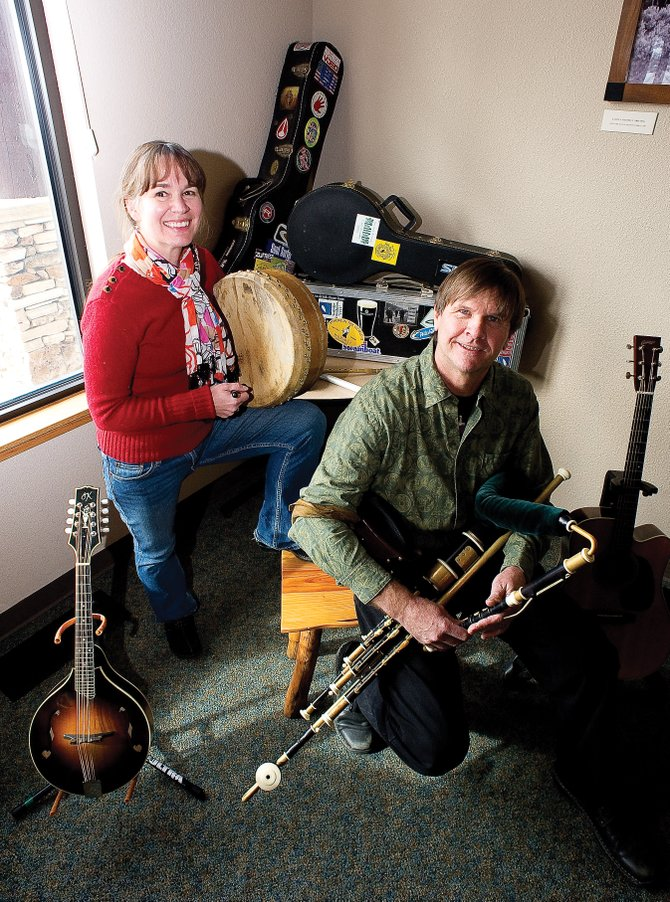Nora Parker and Gary Burman make up the local Irish music duo Pipedance, which plays at 8 p.m. every Friday at McKnight's Irish Pub & Loft.