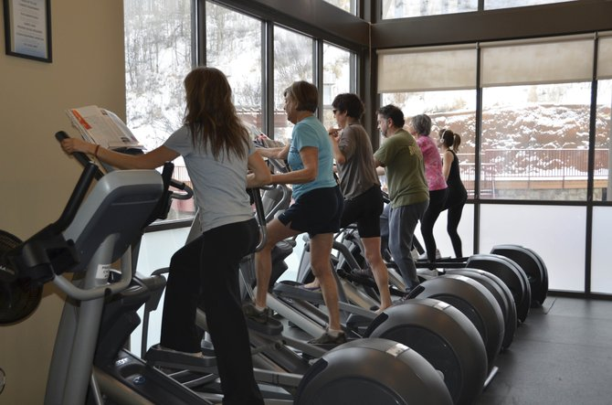 The Old Town Hot Springs hopes to eventually raise $5 million to add 10,000 square feet of space that would house more room for cardiovascular workouts and exercise classes.