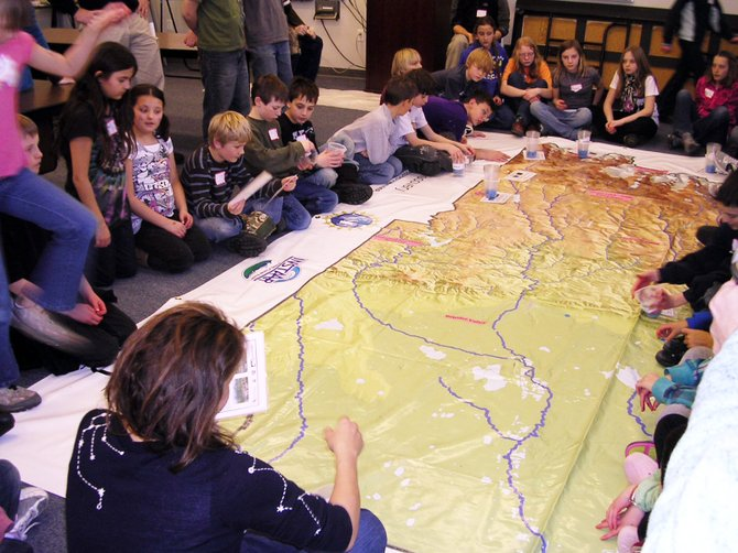 Students from across Northwest Colorado participate in a Science Explorers workshop Friday in Steamboat Springs hosted by the University of Colorado Boulders Science Discovery outreach program.