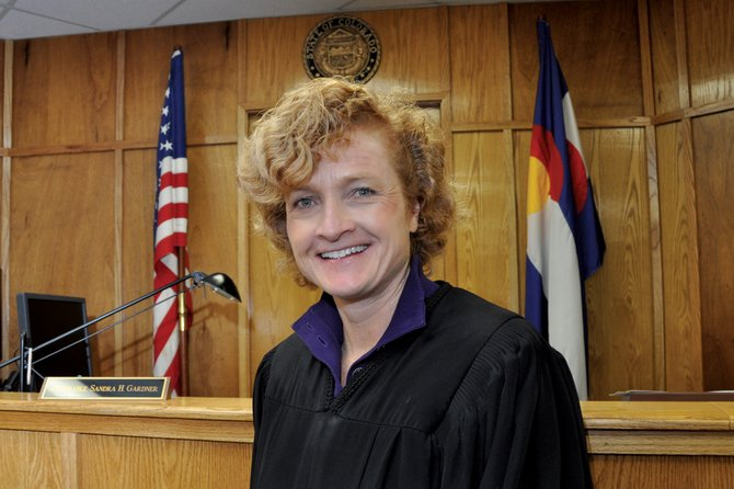"Sandra Gardner, a Moffat County Court judge, has been on the bench in the local court system for six years. While people may not always agree with her decisions, Gardner said everyone should go away from her court believing they've been heard by a ""fair and impartial judge."""