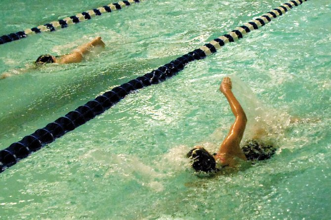 The Moffat County High School girls varsity swimming team will compete in the Western Slope regional meet today and Saturday at Colorado Mesa University in Grand Junction. Head coach Meghan Francone said the Bulldogs are  hoping to post a few more state qualifying times in the final competition before the 4A state meet.