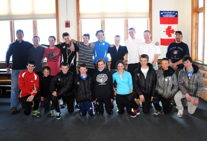The Rocky Mountain Division Nordic combined team was announced and presented Sunday in Steamboat Springs. The squad will compete later this year at the Junior Nationals competition in Park City, Utah.