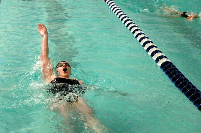 The Moffat County High School girls varsity swimming team had a strong showing Friday and Saturday at the Western Slope regional meet at Colorado Mesa University in Grand Junction, bringing home six top-five finishes. The Bulldogs will send two individual swimmers and three relay teams to compete in the 4A state competition this weekend in Thornton.