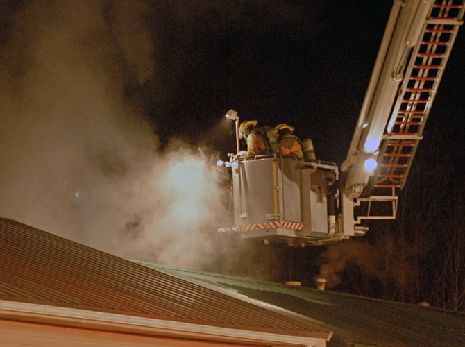 Craig Fire/Rescue responded to a home fire Tuesday night at 1912 Woodland Ave. It was the department's fourth call in less than 24 hours. Craig Fire/Rescue Chief Bill Johnston said three brave Craig Police Department officers pulled one of the two home occupants out of the fire to safety.