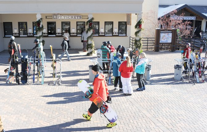 The price of a single-day lift ticket at Steamboat Ski Area has surpassed the $100 plateau for the first time, with new rates coming at $105 per day for one-, two- and three-day passes purchased at the ticket window. One-, two- and three-day lift tickets purchased at least five days in advance will remain $99 per day.