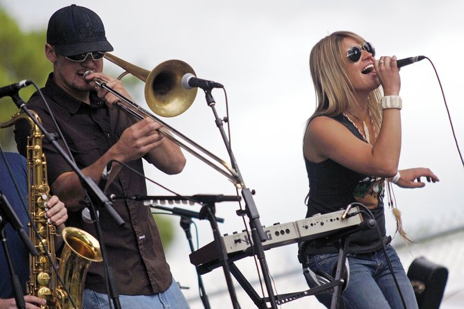 Filthy Children, a funk band from Denver, performs this past summer at the Whittle the Wood Rendezvous in Craig. The band returns to Steamboat this weekend for two shows at The Tugboat Grill &amp; Pub.