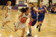The Little Snake River Valley (Wyo.) School girls varsity basketball team beat Farson-Eden for the third time this season Friday in the semifinals of the 1A West Regional Tournament in Lander, Wyo., to earn a spot in today's championship game. The Rattlers will play another team for a third time this year when they match-up against Cokeville in the finals.