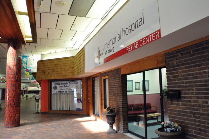 The Memorial Hospital's Rehabilitation Center, located in Suite 116 in Centennial Mall, was scheduled to move to TMH Medical Clinic this spring. However, lowest bids for clinic renovations came in about $180,000, or about $55,000 more than TMH board members approved. The rehab center will remain at its current location for the time being.
