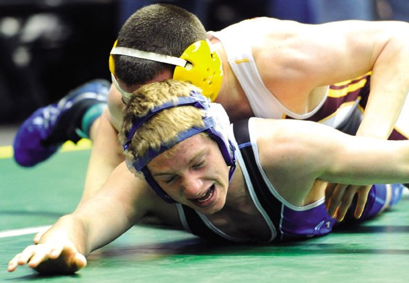 Garrett Stewart, a Moffat County High School junior, qualified for the 4A state wrestling tournament for a second straight year this season. Stewart said being a two-time state qualifier not only raises expectations for himself, but also for next year's squad, on which he will be the only returning senior.