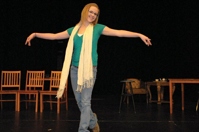 Kat Thompson, a Moffat County High School senior, said her favorite aspect of performing is being able to have a moment on stage. When Thompson's not performing, she keeps busy with numerous school clubs as well as working as a sales associate at Maurices.