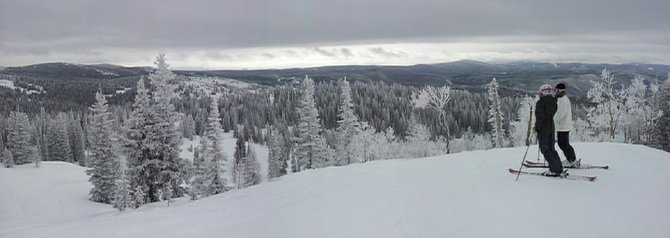 Seven inches of new snow since Tuesday morning greeted skiers and riders at the Steamboat Ski Area on Wednesday morning. More snow is on the way tonight through Friday.