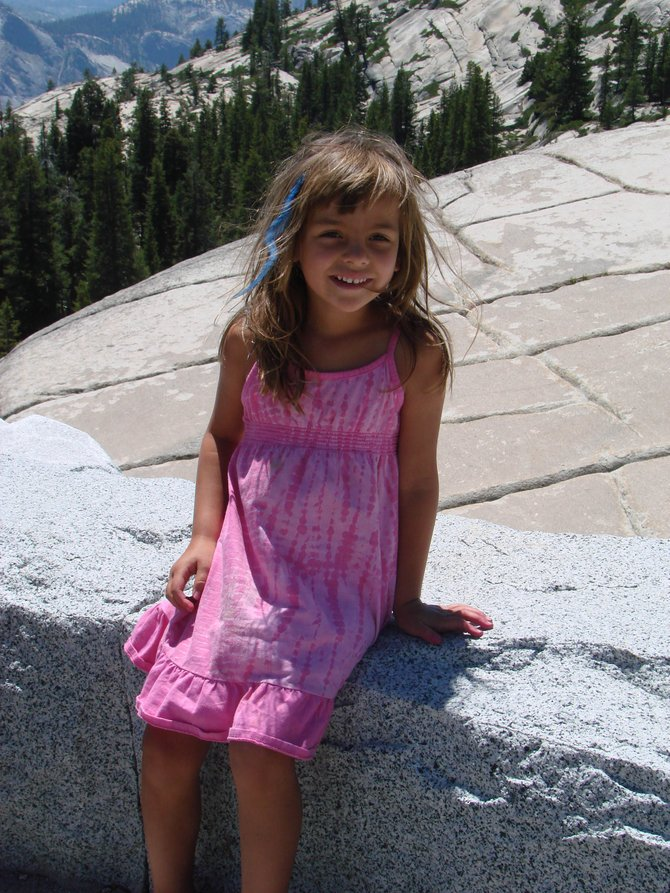 Kealia Buschmann is seen in Yosemite in 2011. Kealia was diagnosed with Nonverbal Learning Disorder in May 2011, and her parents contacted the Yampa Valley Autism Program, a local nonprofit that provides services and support to local families with children suffering from an autism spectrum disorder. The nonprofit's annual fundraising event is at 6 p.m. Saturday at the Steamboat Springs Community Center.