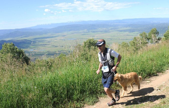 Greg Sarin runs toward the finish line in the 2011 Mount Werner Classic in Steamboat Springs. The event will return, but in name only. What were 12- and 5-mile races will be replaced by a 50-kilometer trail race.