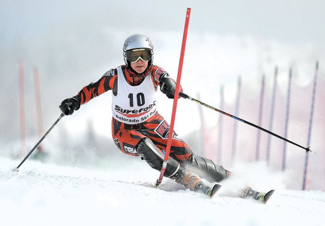 Former Steamboat Springs Winter Sports Club skier Mary Rachel Hostetter, who now races for the University of New Mexico, is part of a group of skiers with Steamboat Springs ties who will compete in this week's NCAA Championships in Montana.