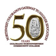 Colorado Northwestern Community College is now using this logo to commemorate the school's upcoming 50th anniversary.