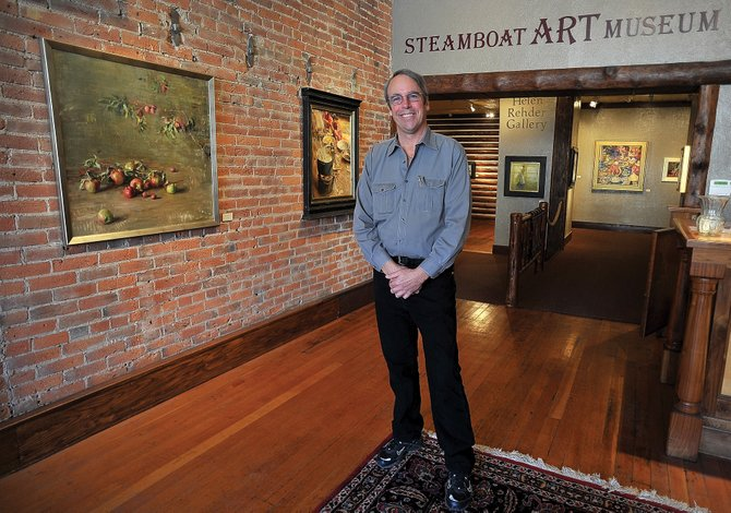 Tuesday was Doug Henderson's first day in the office as he started his job as the Steamboat Art Museum's first-ever executive director.
