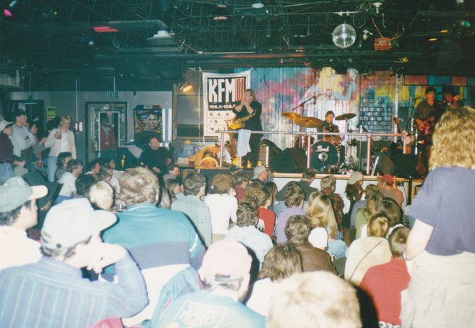 A packed bar often was the case at the Inferno, a Gondola Square watering hole for locals and visitors alike from 1984 to 2000.