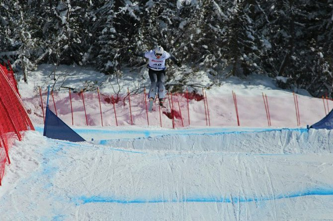 Steamboat Springs Winter Sports Club skier Brant Crossan competes Tuesday at the FIS Junior World Ski Championships in Italy. Crossan narrowly missed the finals and finished fifth.
