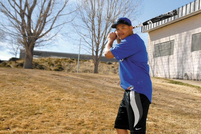 Carlos Maldonado, a Moffat County High School senior, will try to help lead a young MCHS varsity baseball squad back to the playoffs this season. Maldonado said he thinks his offseason training will pay dividends this year as he moves to shortstop.