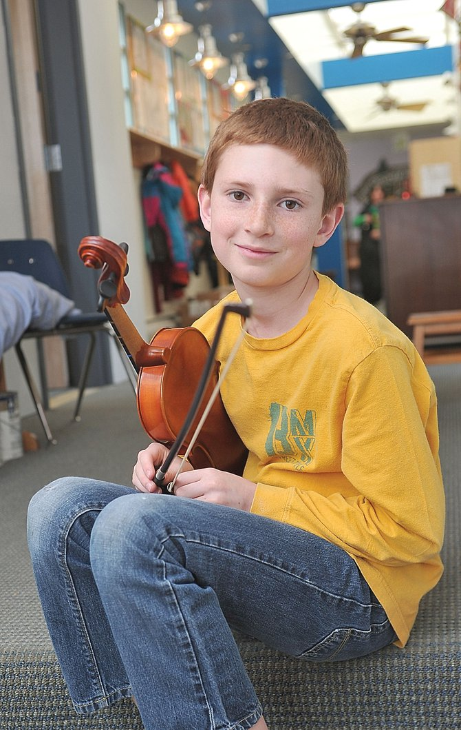 Cedar Turek, 10, played a recital at Merkin Hall in New York City last weekend after earning honorable mention in the 2012 American Protege International Piano and Strings Competition.