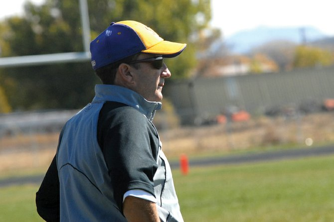 Mike Bates, the Little Snake River Valley (Wyo.) School six-man football head coach, has enjoyed success in Baggs, Wyo., capturing the past two state football titles as well as the boys and girls state track titles last year. Bates said he's always enjoyed playing and coaching sports.