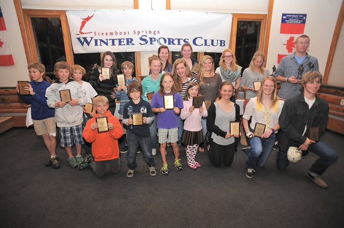There were plenty of winners at the Steamboat Springs Winter Sports Club's annual awards night Tuesday at Olympian Hall.