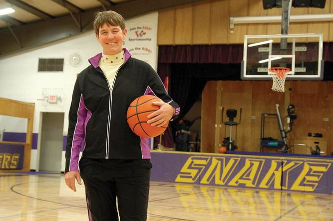 Jodi Stanley, Little Snake River Valley School (Wyo.) girls varsity basketball head coach, has been at the helm of the Rattlers for 27 years, leading the program to two state titles. Stanley helped bring the LSRV girls basketball program into prominence during her high school playing days, winning the state title as a freshman and sophomore.
