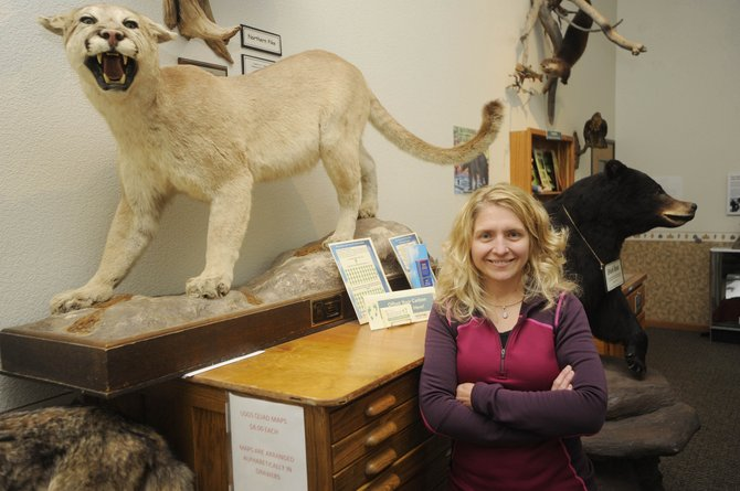 Melissa Dressen, a wildlife biologist with the Yampa Ranger District, has received the Wildlife Biologist of the Year award for the U.S. Forest Services five-state Rocky Mountain Region.