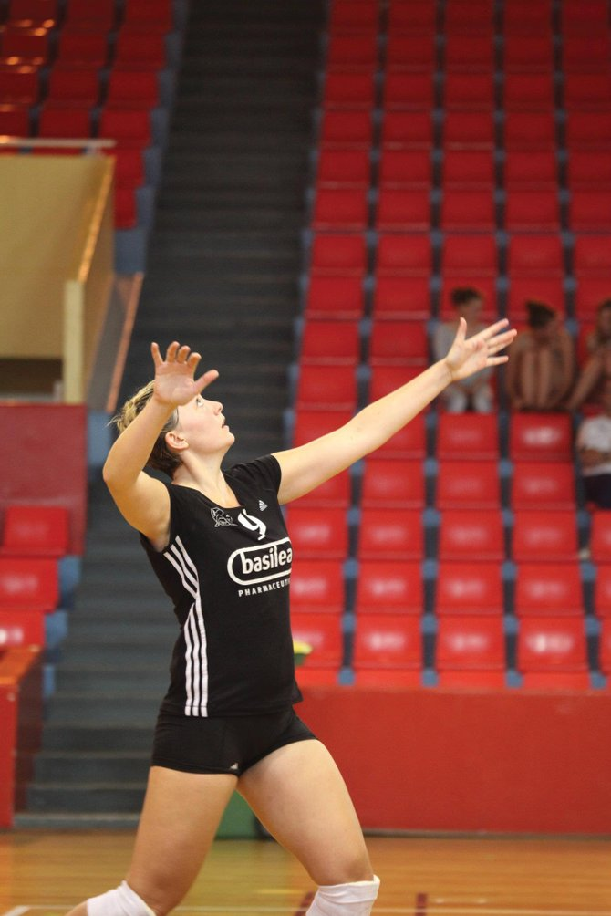 Tara King, a 2006 Steamboat Springs High School graduate, spent the past nine months playing professional volleyball in Denmark.